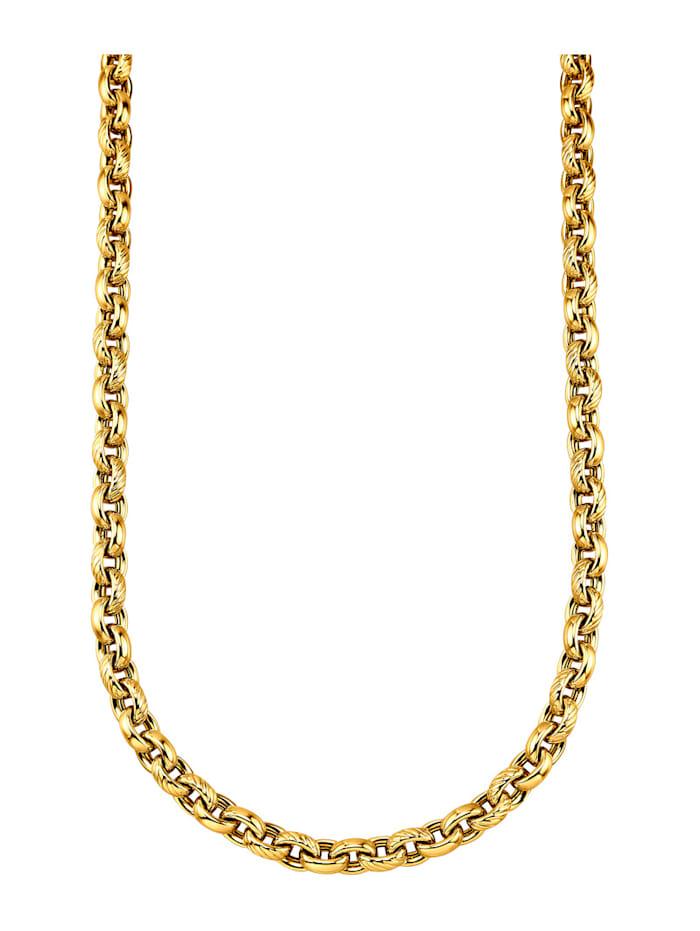 Diemer Gold Ankerkette in Gelgbold 585, Gelbgoldfarben