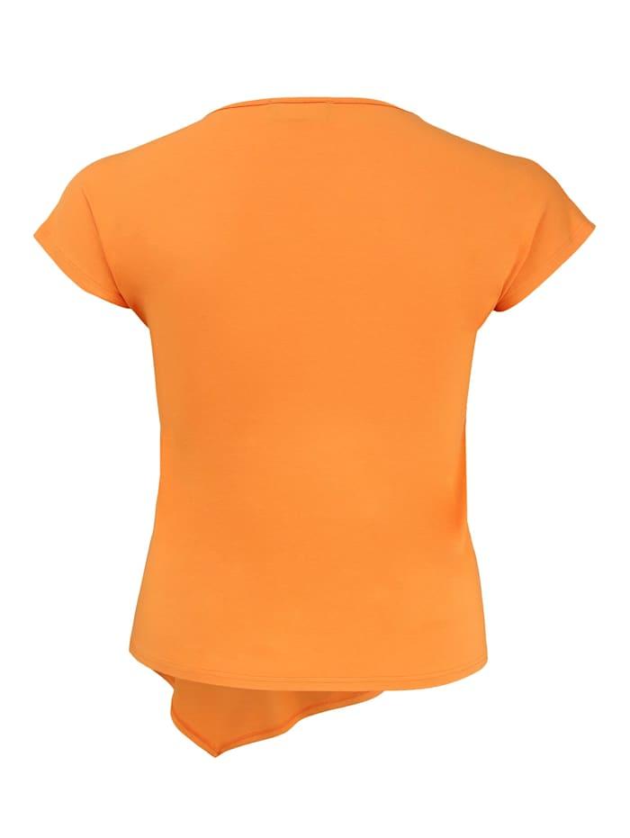 Shirt mit Saum Applikationen