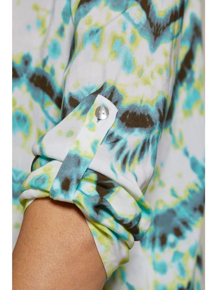 Viskose Bluse Batikprint