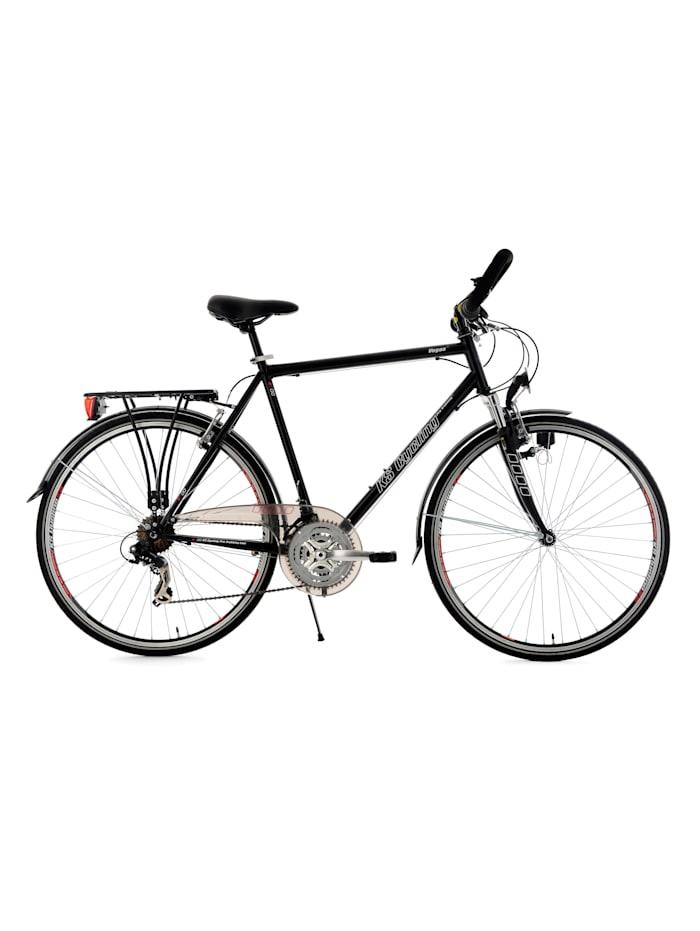 KS Cycling 28  Zoll Trekkingrad Herrenfahrrad Vegas 21 Gänge, schwarz