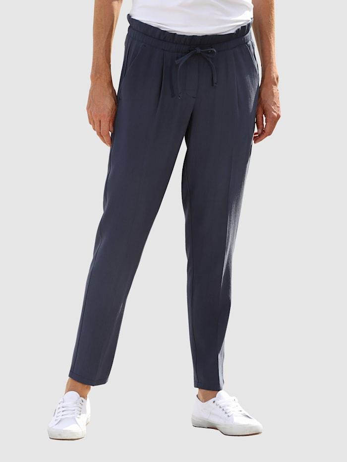 Dress In Pantalon de coupe Sandra Slim, Marine