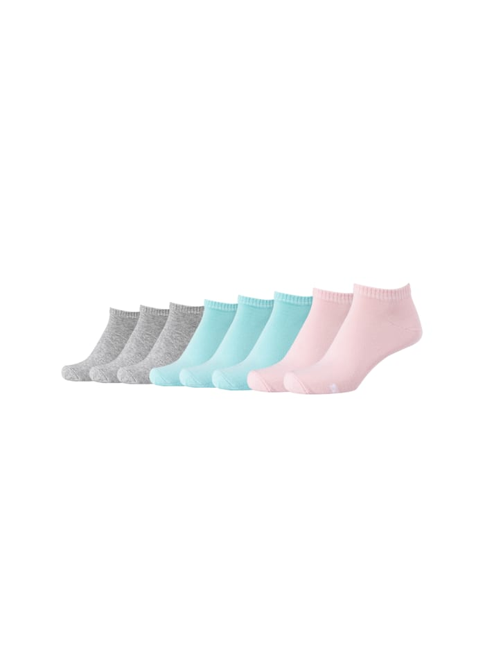 Skechers Sneakersocken 8-teilig in schlichter Optik, english rose
