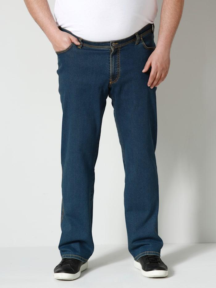 Men Plus Jeans in speciale pasvorm, Black stone