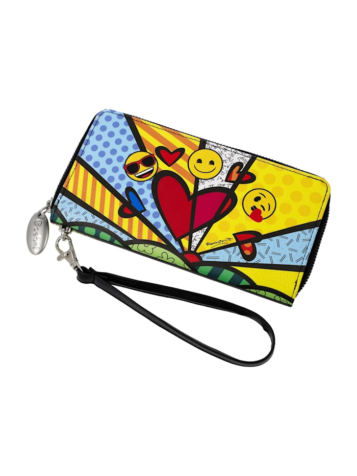 "Goebel Goebel Portmonnaie Emoji® by BRITTO® - ""A New Day"", Emoji/Britto - A New Day"