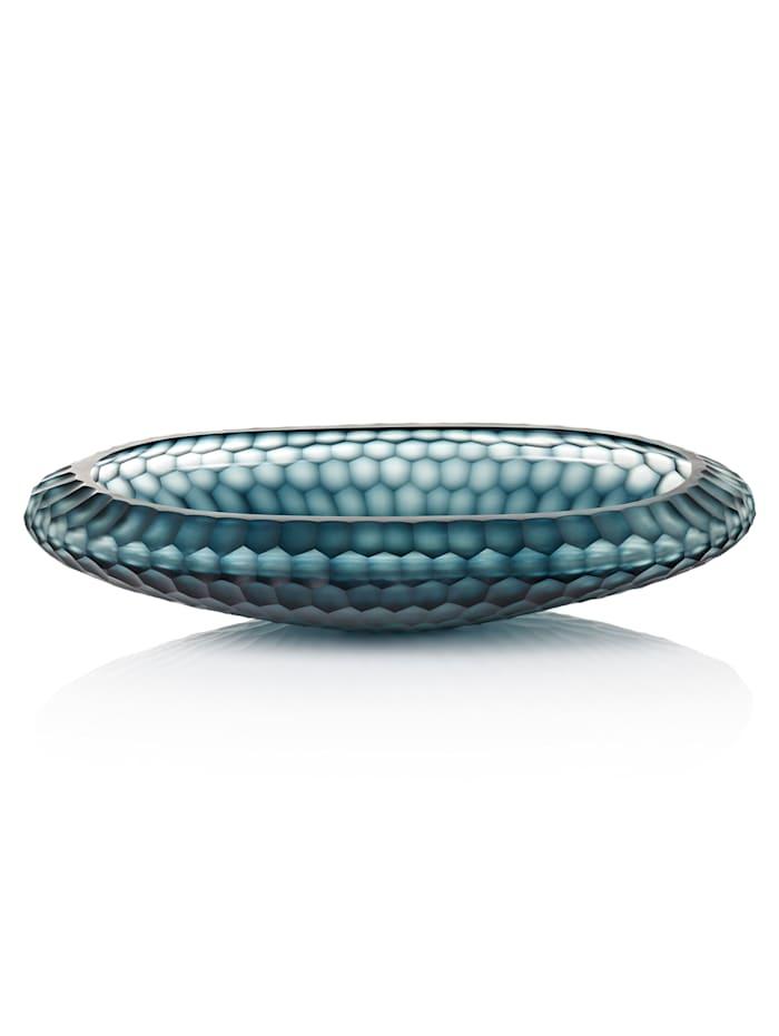 IMPRESSIONEN living Deko-Schale, blau