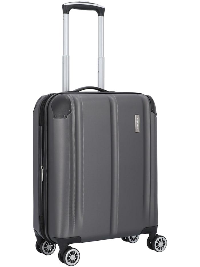 Travelite City 4-Rollen Kabinentrolley 55 cm, anthrazit