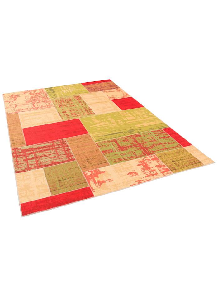 Luxus Vintage Designer Teppich Primus Patchwork