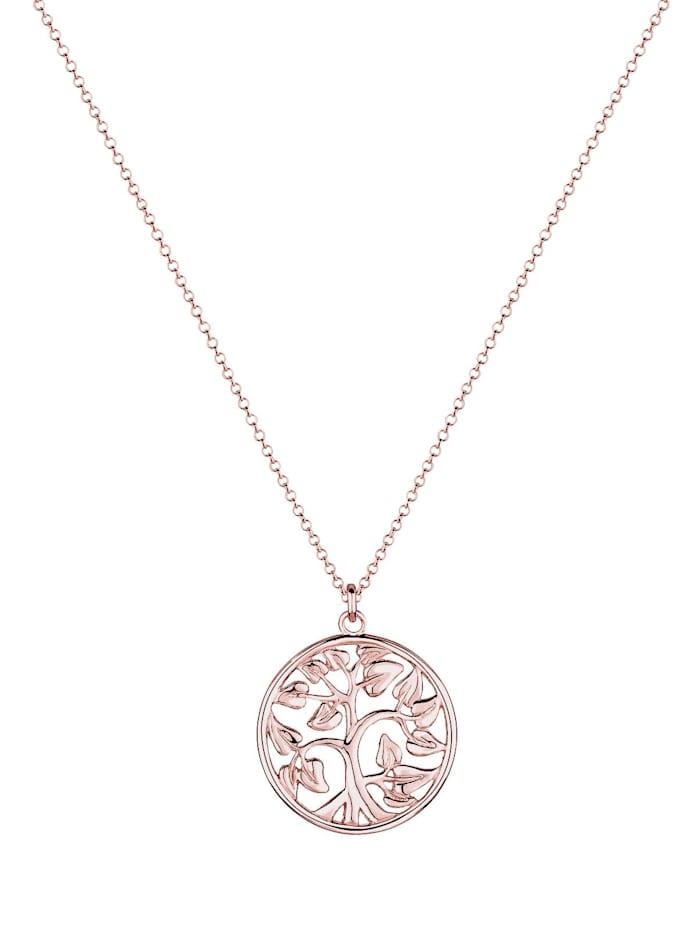 Halskette Münze Tree Of Life Lebensbaum 925 Sterling Silber