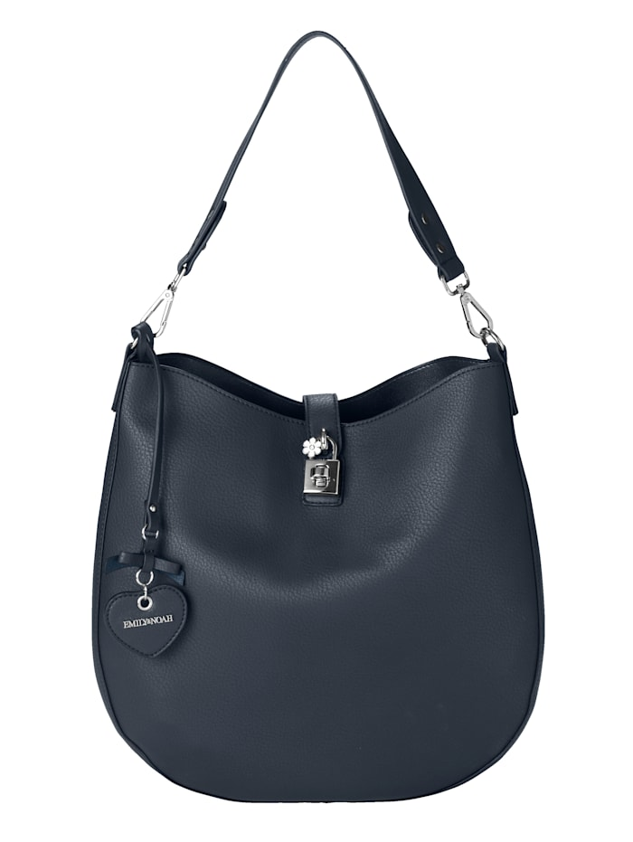 EMILY & NOAH Handbag with an additional shoulder bag 2-piece, Navy