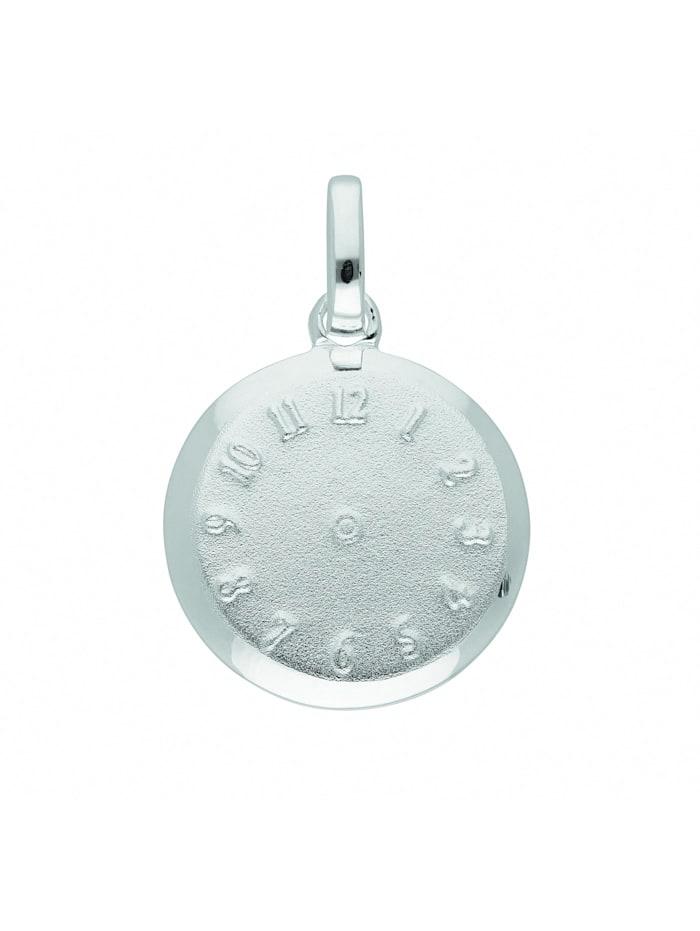 1001 Diamonds Damen Silberschmuck 925 Silber Anhänger Taufuhr Ø 12,7 mm, silber