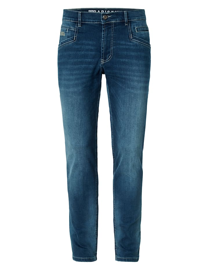 BABISTA Jean à part de fibre T400®, Bleu