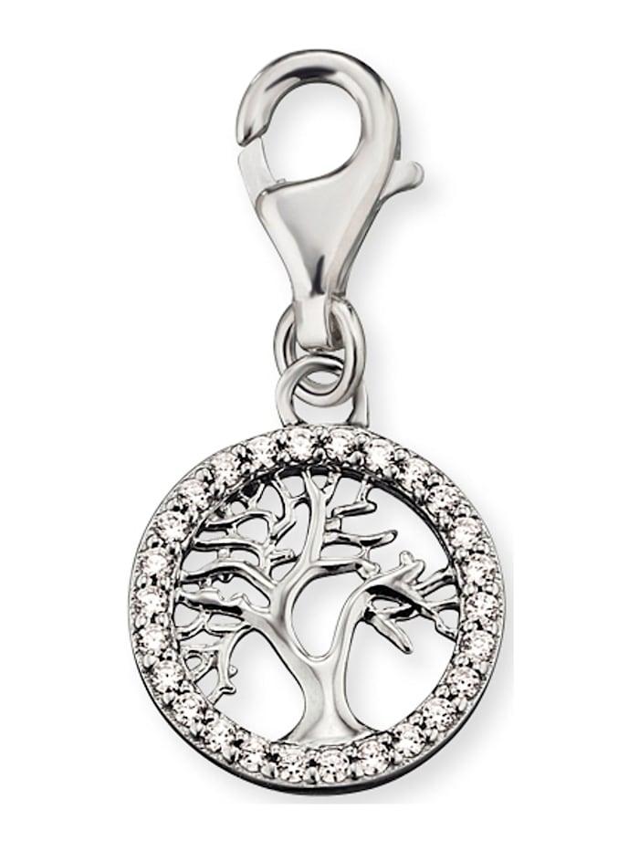 Engelsrufer Engelsrufer Damen-Charm 925er Silber 26 Zirkonia, silber