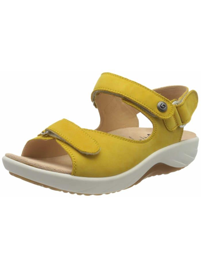 Ganter Sandalen/Sandaletten, gelb