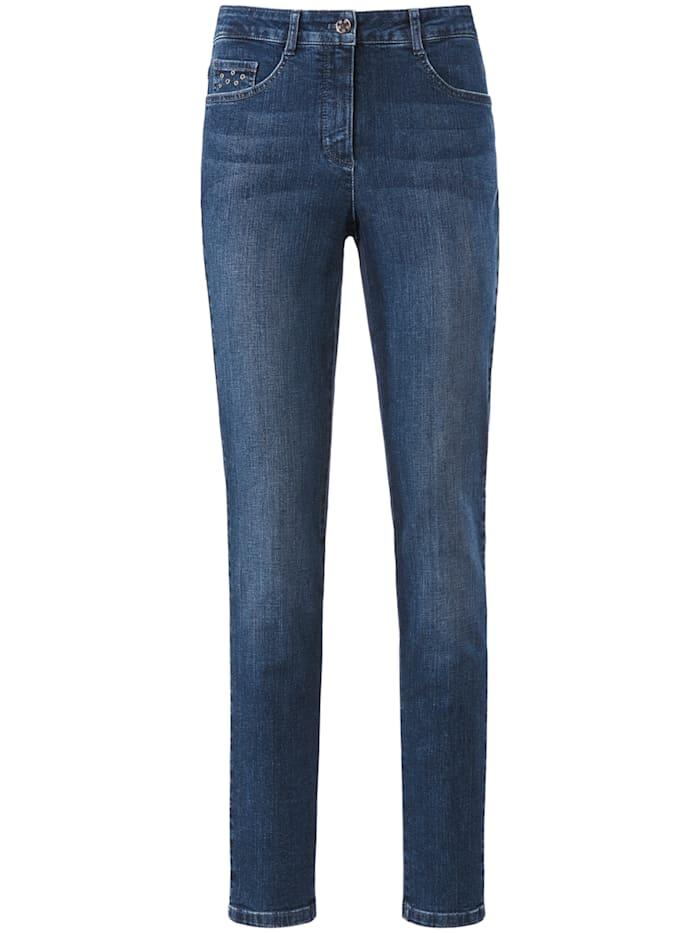 """Basler 5-Pocket-Jeans """"Julienne"""" mit Nieten, blue denim"""