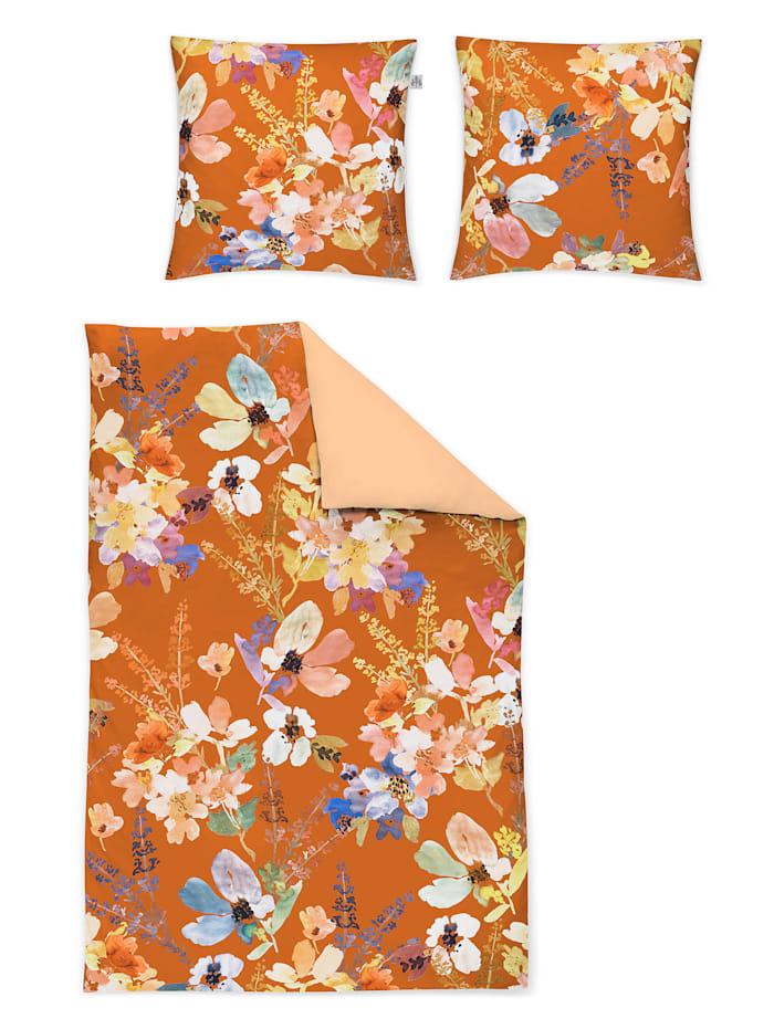 Irisette 2-delige set bedlinnen Arabella, terra/multicolor