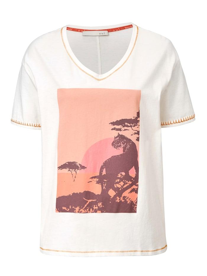 OUI T-Shirt, Off-white