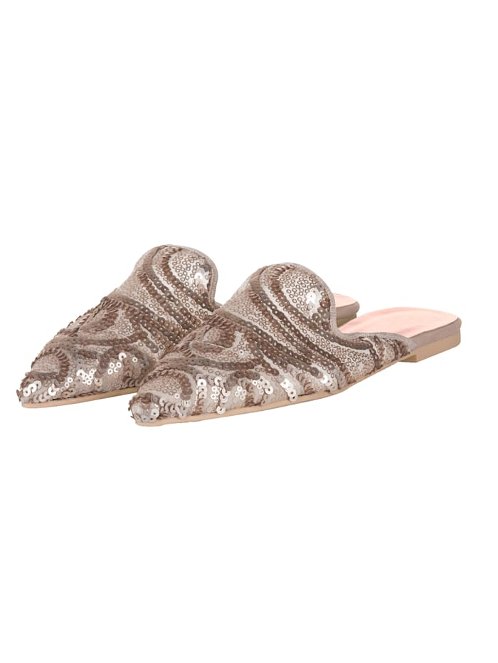 Pretty Ballerinas Slipper, Beige