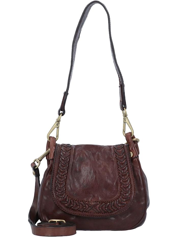 Handtasche Leder 20 cm