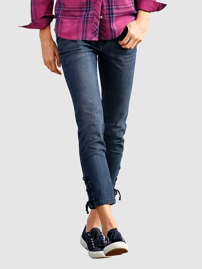 3/4 Jeans in Laura Slim