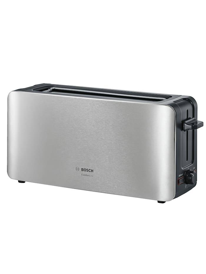 Bosch Bosch Langschlitz-Toaster TAT6A803, Edelstahl/schwarz