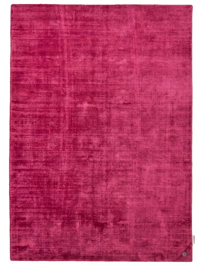 Tom Tailor Handarbeitteppich Shine Uni, Pink