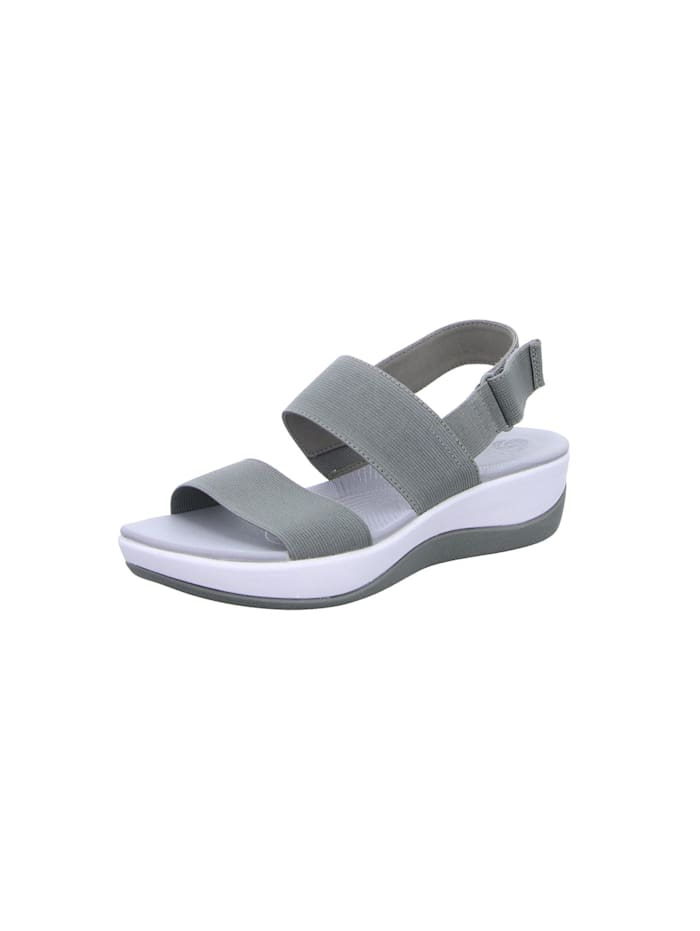 Clarks Sandalen/Sandaletten, grau