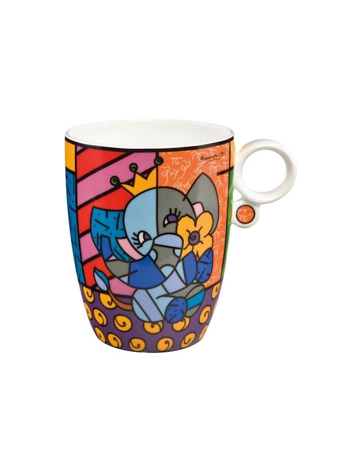Goebel Goebel Künstlertasse Romero Britto - Spring Elephant, Britto - Spring Elephant