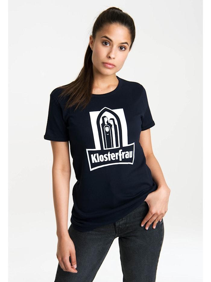 Logoshirt T-Shirt Klosterfrau mit lizenziertem Originaldesign, dunkelblau