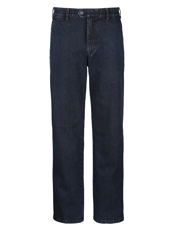 Brühl Jeans met elastische band, Dark blue