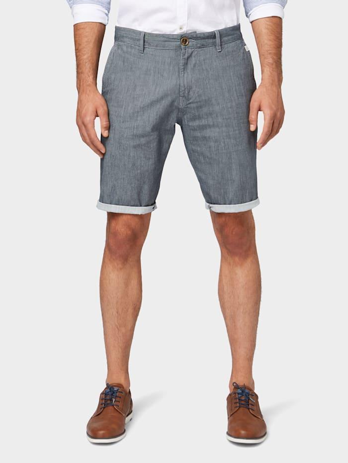 Tom Tailor Josh Regular Slim Bermuda Shorts, after dark blue
