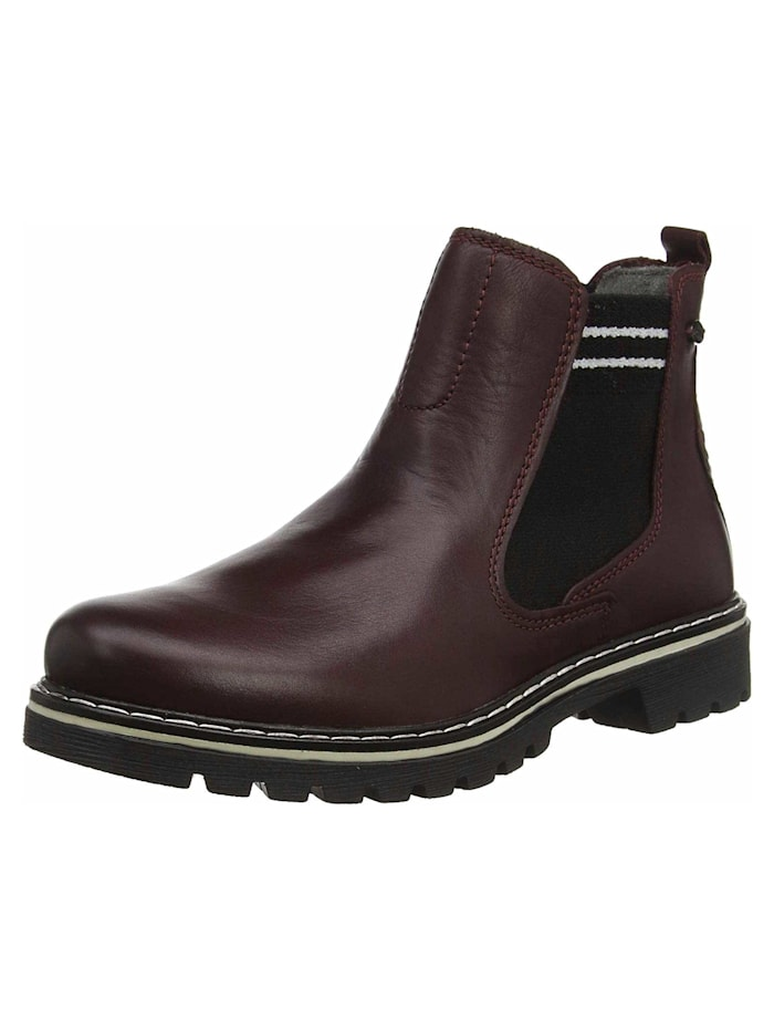 camel active Stiefelette, rot