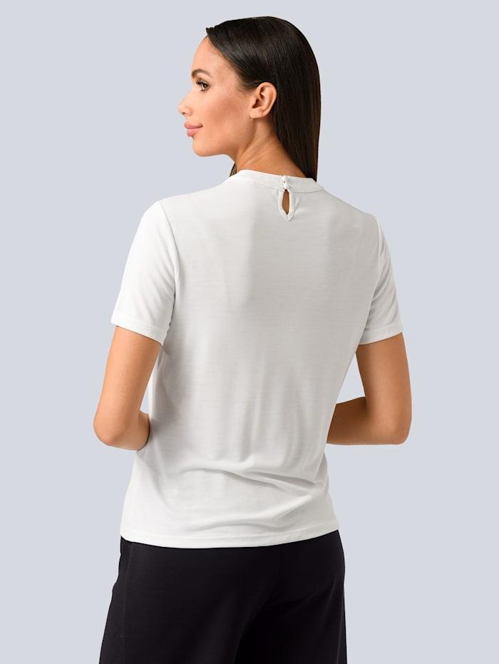 T-shirt à plis surpiqués