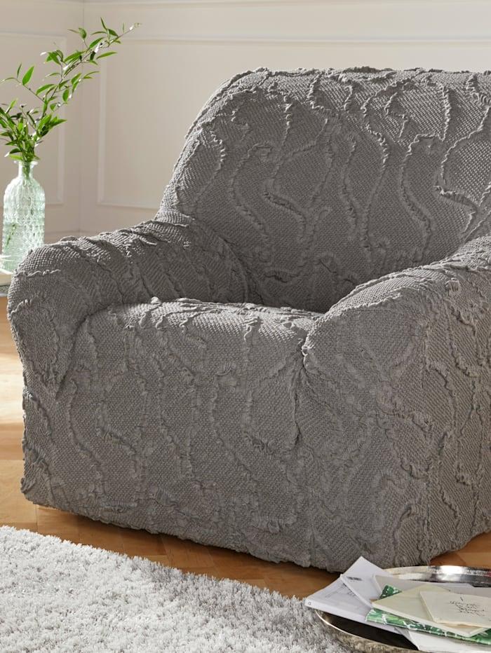 Webschatz Elastische meubelhoezen, zilverkleur