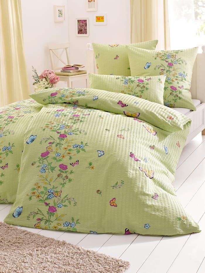 Webschatz 2-delige set bedlinnen Weide, groen