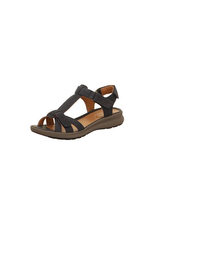 Clarks Sandalen/Sandaletten, dunkel-blau