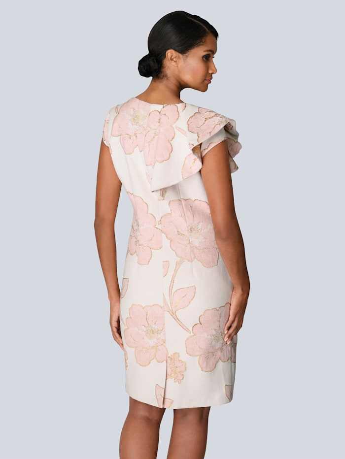 Kleid in edlem Jacquard