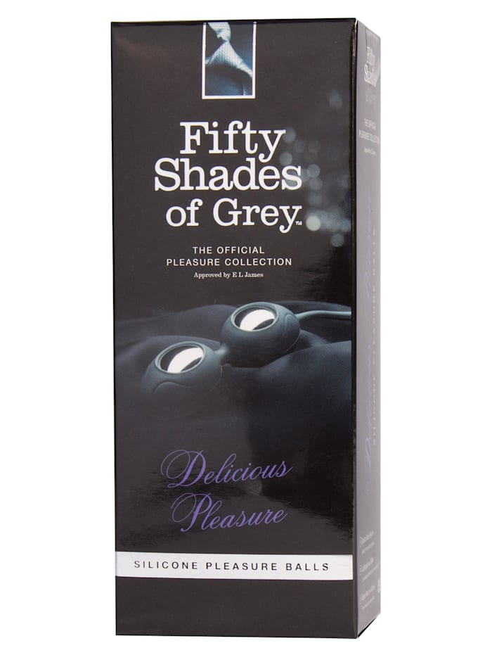 Fifty Shades of Grey Liebeskugeln Fifty Shades of Grey Delicious Pleasure, silber