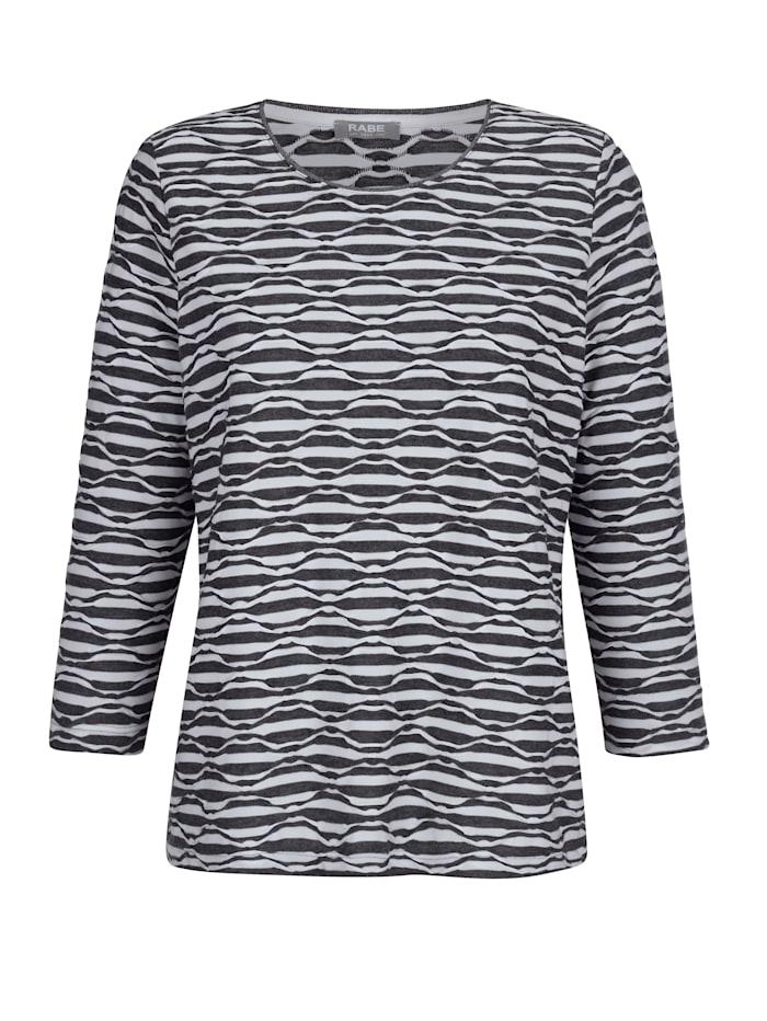 Shirt mit Wellen-Struktur