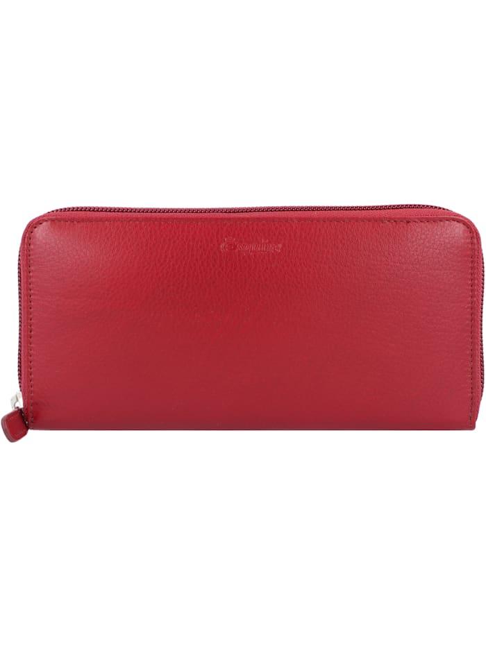 Esquire New Line Geldbörse RFID Leder 19 cm, rot