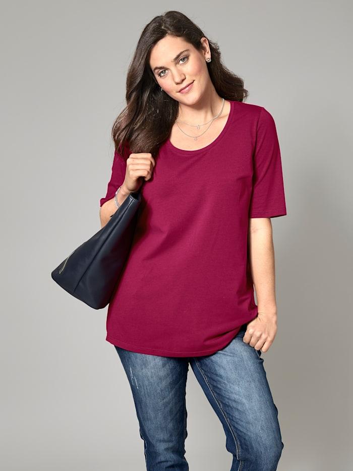 Janet & Joyce Basic Shirt, Beere