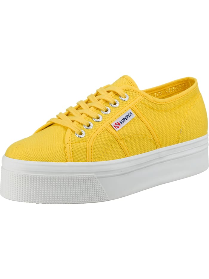 Superga 2790 Acotw Linea Up And Down Sneakers Low, gelb