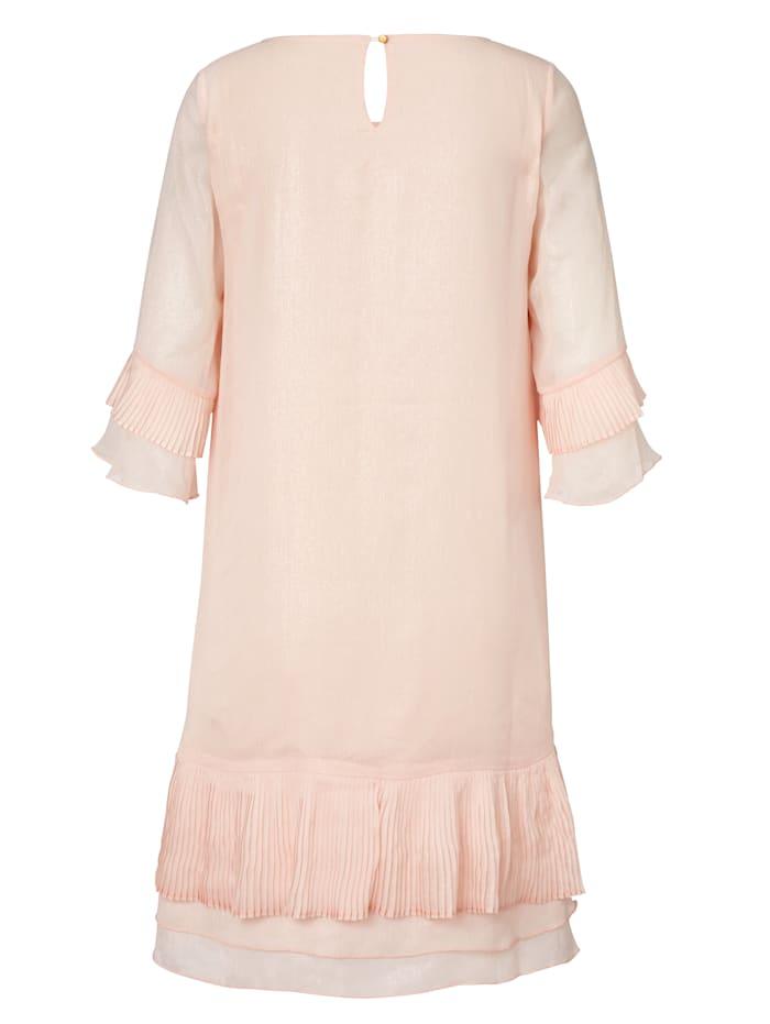 Kleid mit dezentem Foil-Druck
