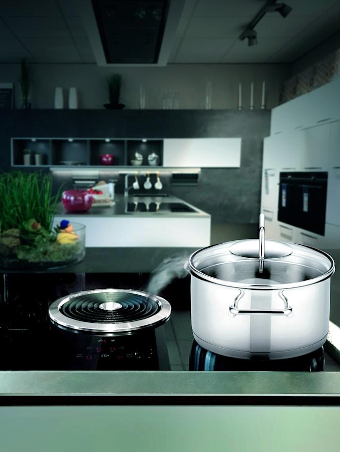 ELO Batterie de cuisine 'Smart Steam', 7 pièces, Argent