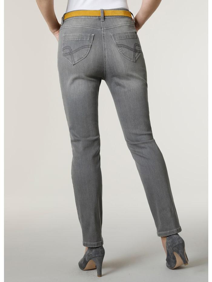 Jeans mit modisch dezenter Waschung