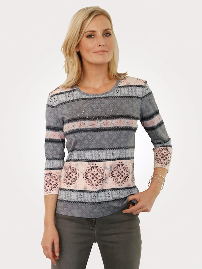 Top with small decorative sequins