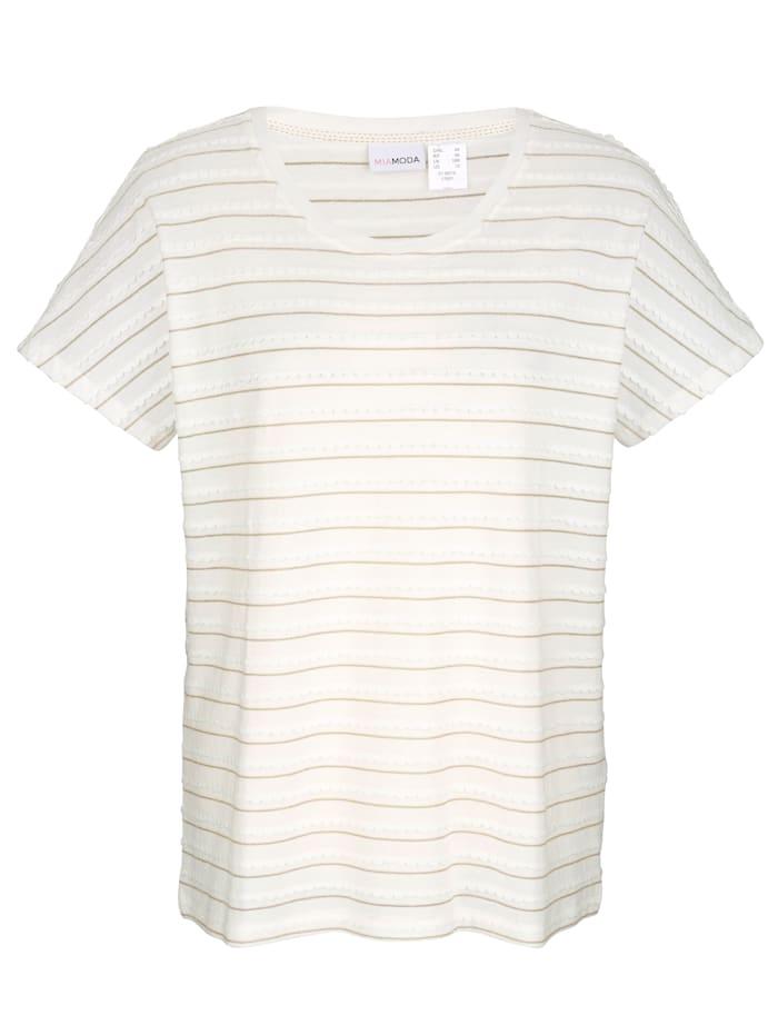 Shirt mit Effektgarn