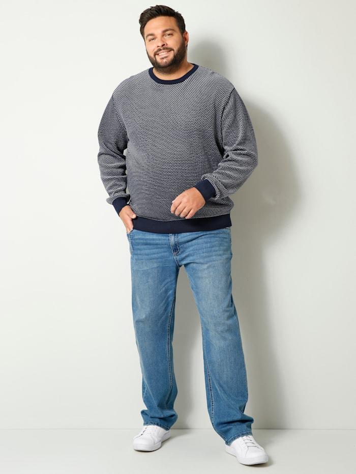 Pullover mit aufwendigem Strukturstrick