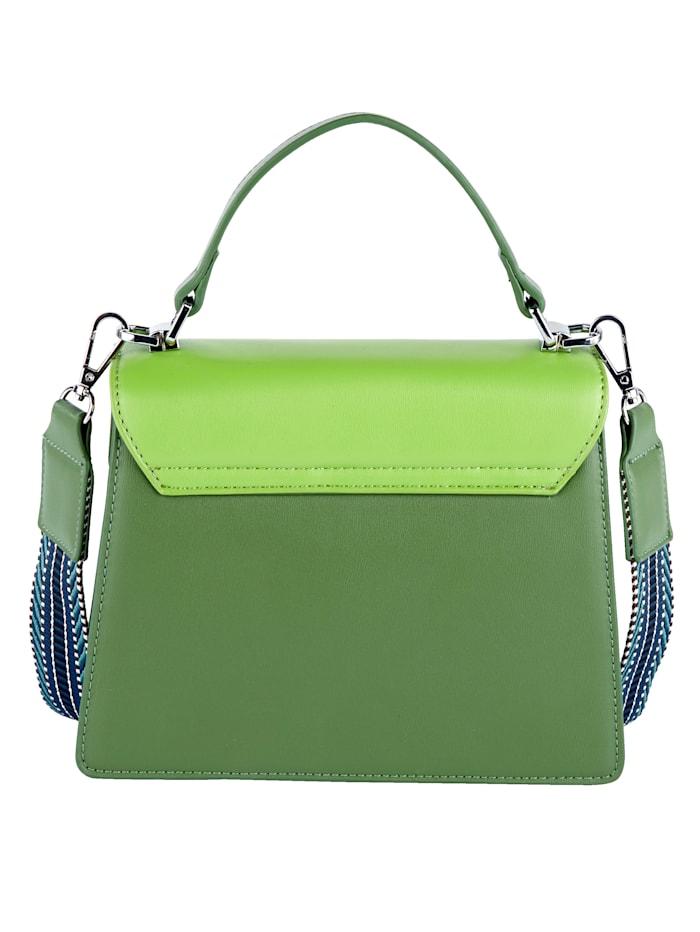 Handväska i pigga färger
