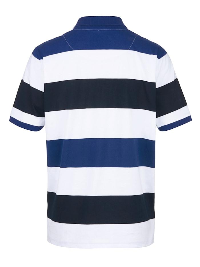 Poloshirt in bequemer Single Jersey Qualität
