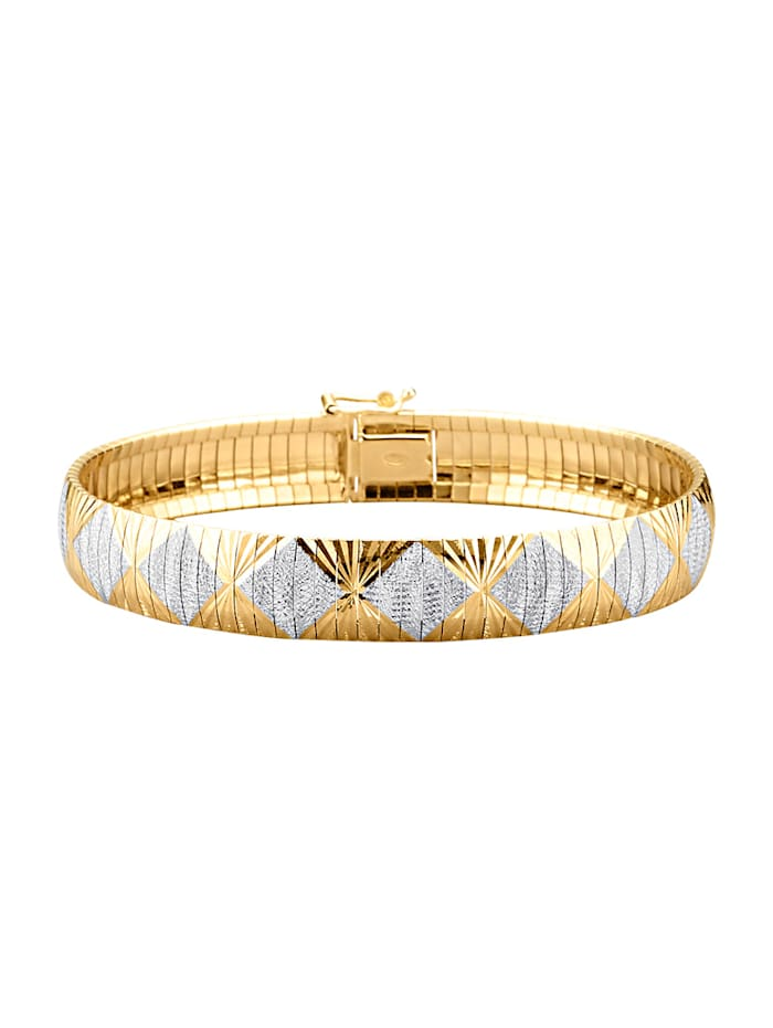 Armband van verguld zilver, Geelgoudkleur